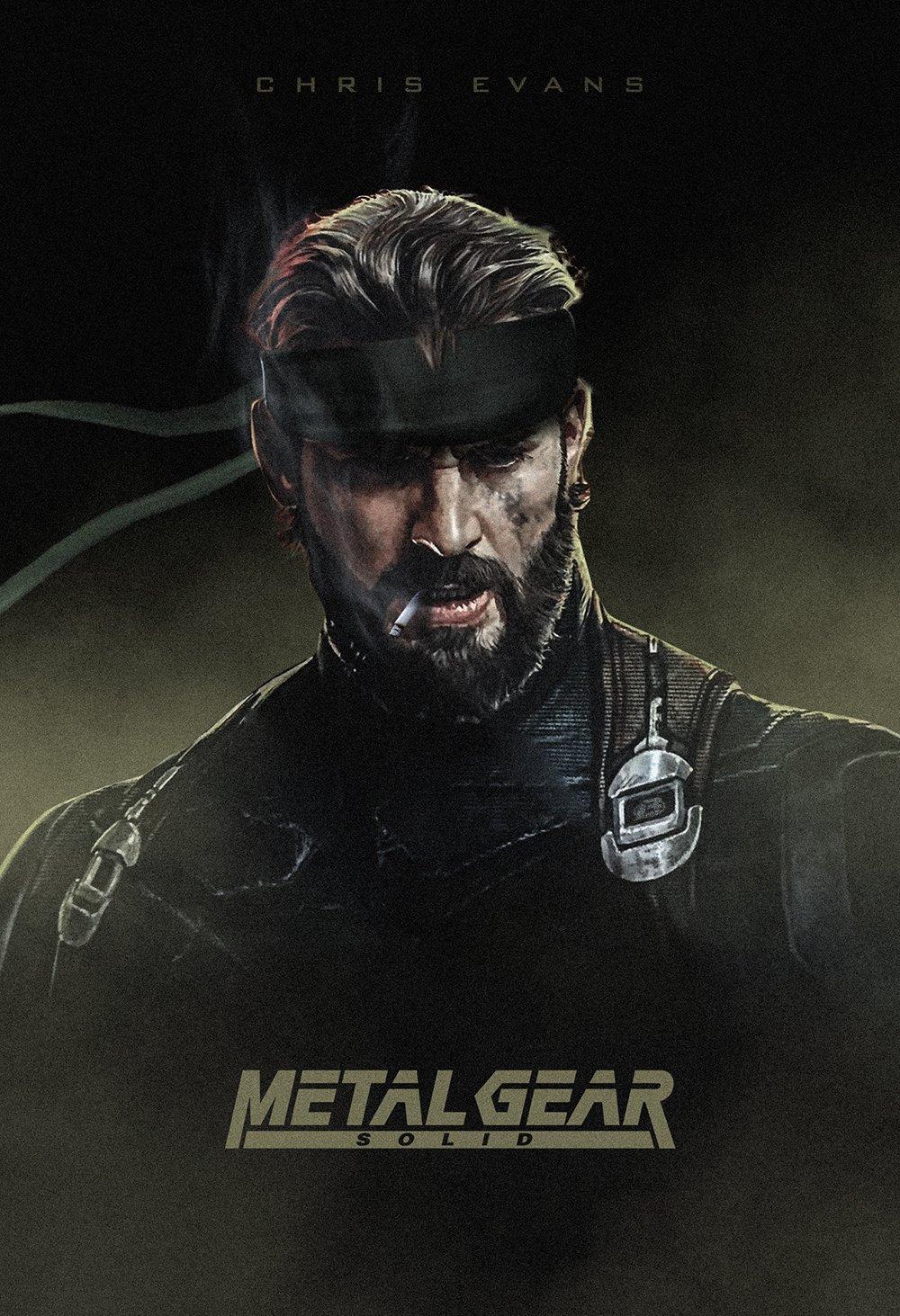 Fondos De Pantalla 1000x1463 Px Chris Evans Metal Gear