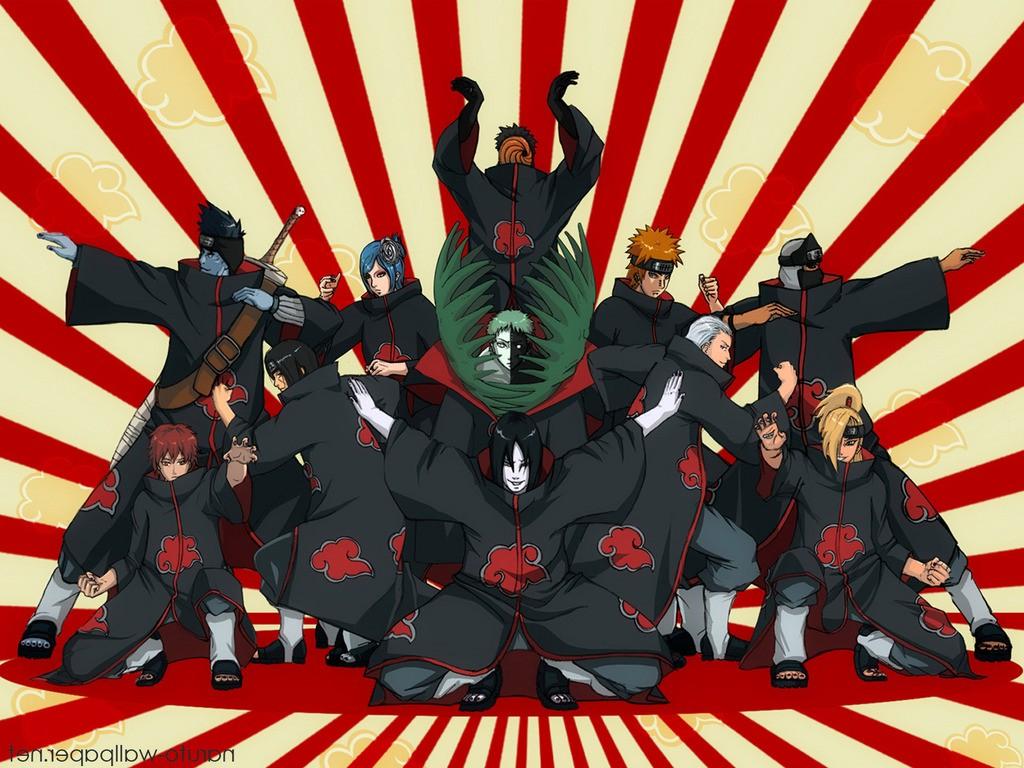 1024x768 px Akatsuki Deidara Hidan Hoshigaki Kisame hài hước Kakuzu Konan  Naruto Shippuuden Orochimaru Sasori Sọc