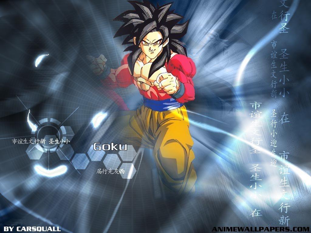 Wallpaper 1024x768 Px Dragon Ball Gt Son Goku Super Saiyan 4