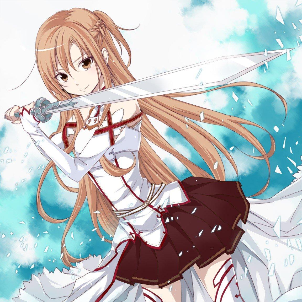 1151x1152 Px Sword Art Online Yuuki Asuna
