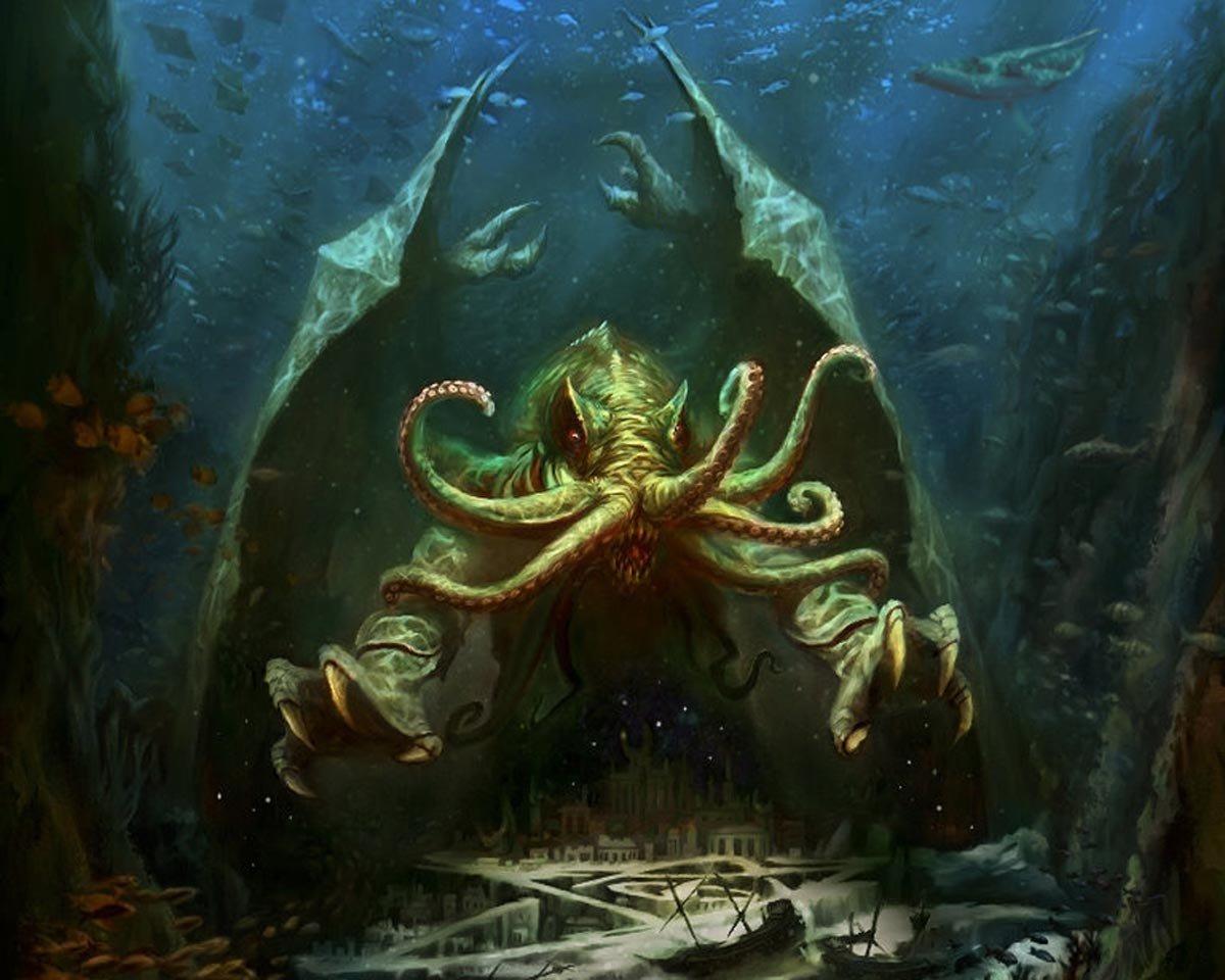 Wallpaper 1200x960 Px Cthulhu H P Lovecraft 1200x960