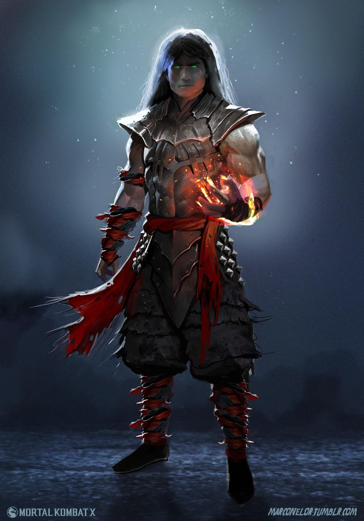1256x1800 Px 2D Liu Kang Mortal Kombat X