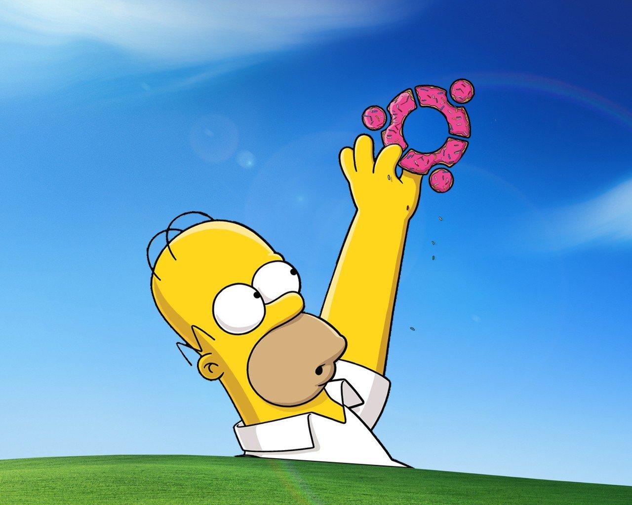 Fondos de pantalla 1280x1024 px u homero simpson - Bart simpson nu ...
