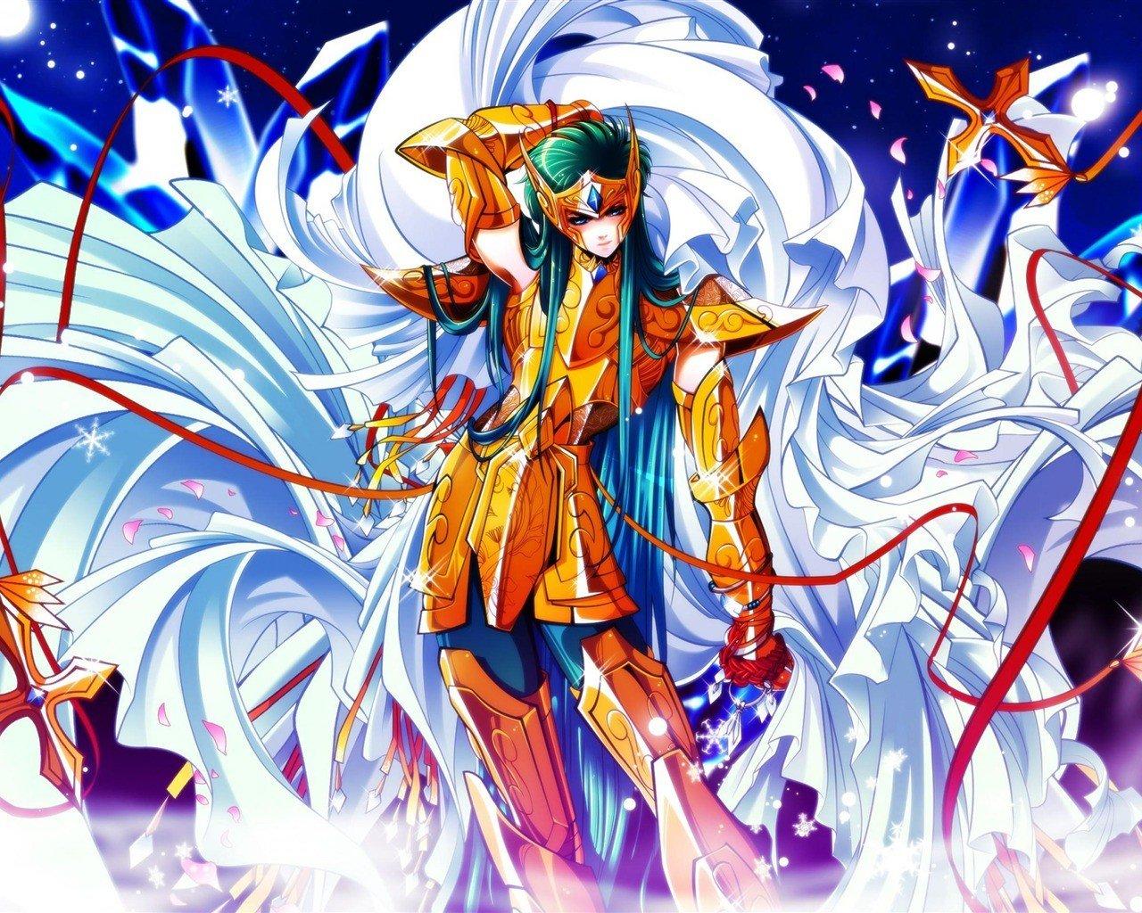 デスクトップ壁紙 1280x1024ピクセル アニメ 聖闘士星矢オメガ