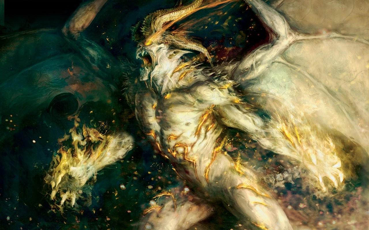 Wallpaper 1280x800 px creature demon fantasy art 1280x800 1280x800 px creature demon fantasy art voltagebd Choice Image