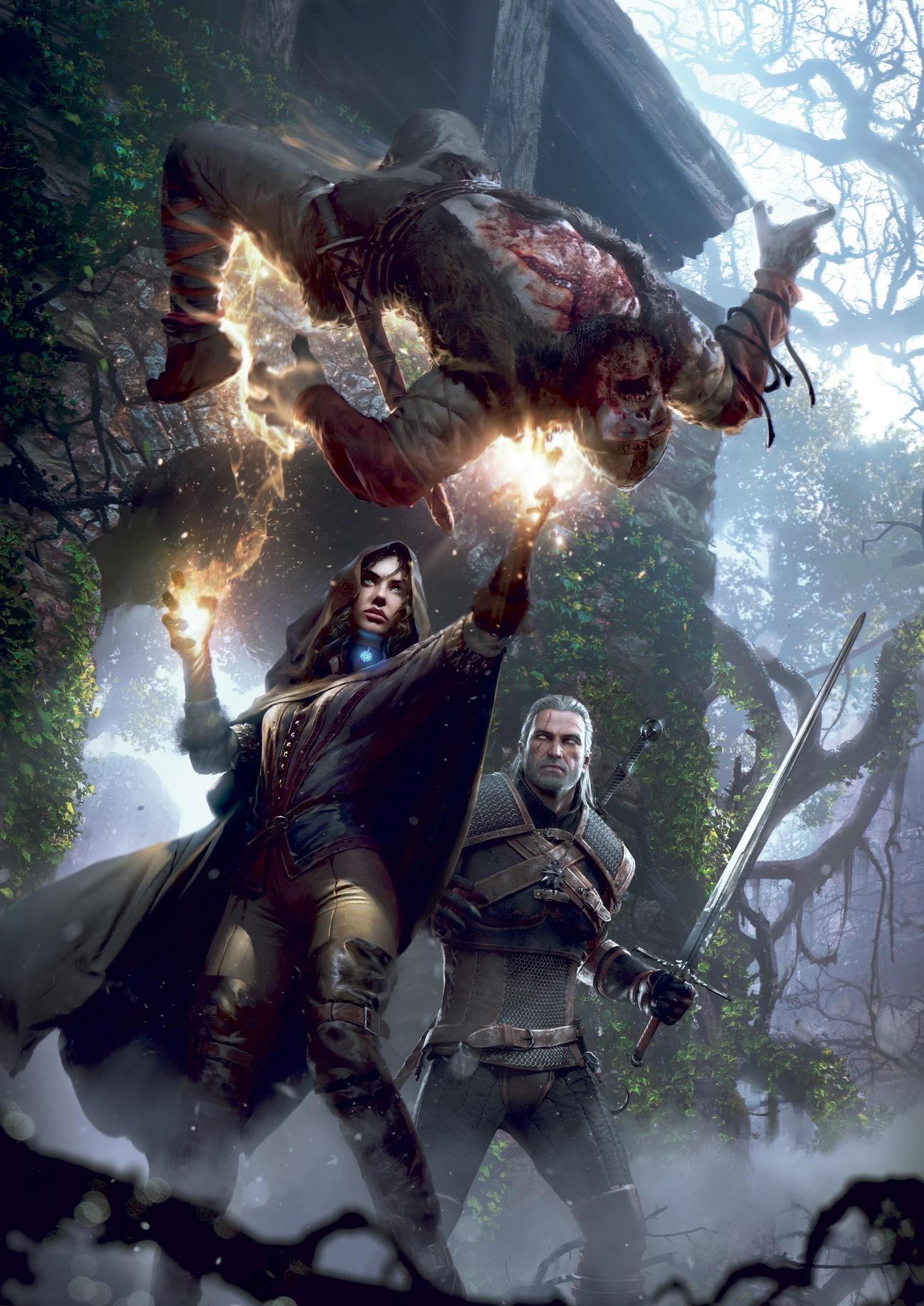Wallpaper 1296x1832 Px Geralt Of Rivia The Witcher 3 Wild Hunt