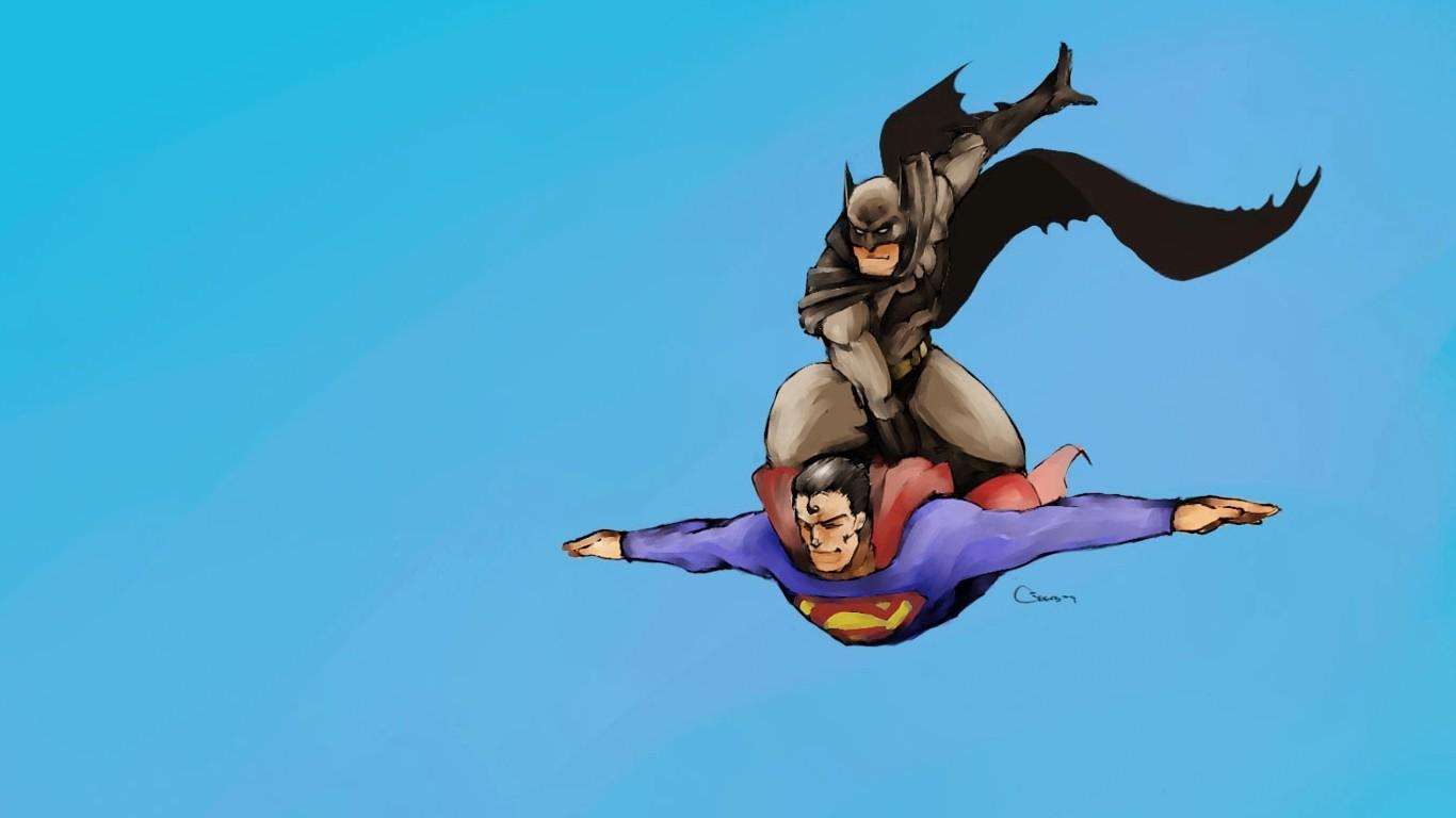 Wallpaper 1366x768 Px Batman Superman 1366x768 Wallhaven