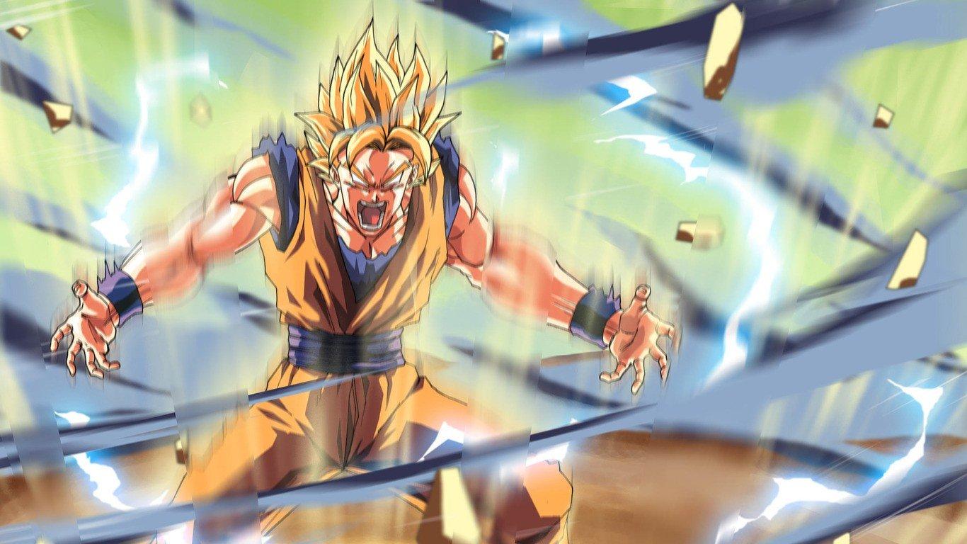 Wallpaper 1366x768 Px Dragon Ball Z Son Goku 1366x768