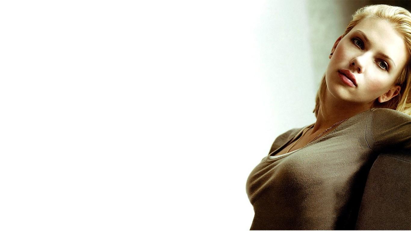 1366x768 Px Scarlett Johansson