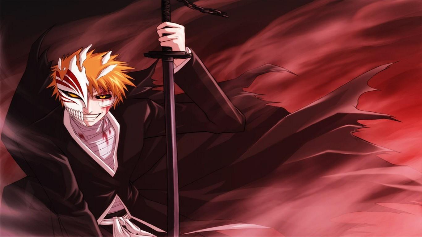 1366x768 Px Anime Bleach Hollow Kurosaki Ichigo