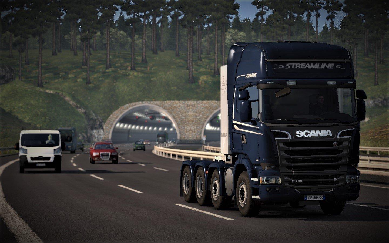 713b072c43f17 1440x900 px American Truck Simulator Euro Truck Simulator 2 Scania trucks  wallhaven