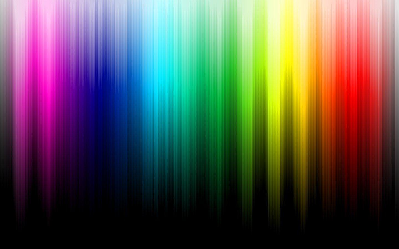 Wallpaper 1440x900 Px Background Black Color Minimalistic Multicolor Rainbows Spectrum 1440x900 Wallup 1492141 Hd Wallpapers Wallhere