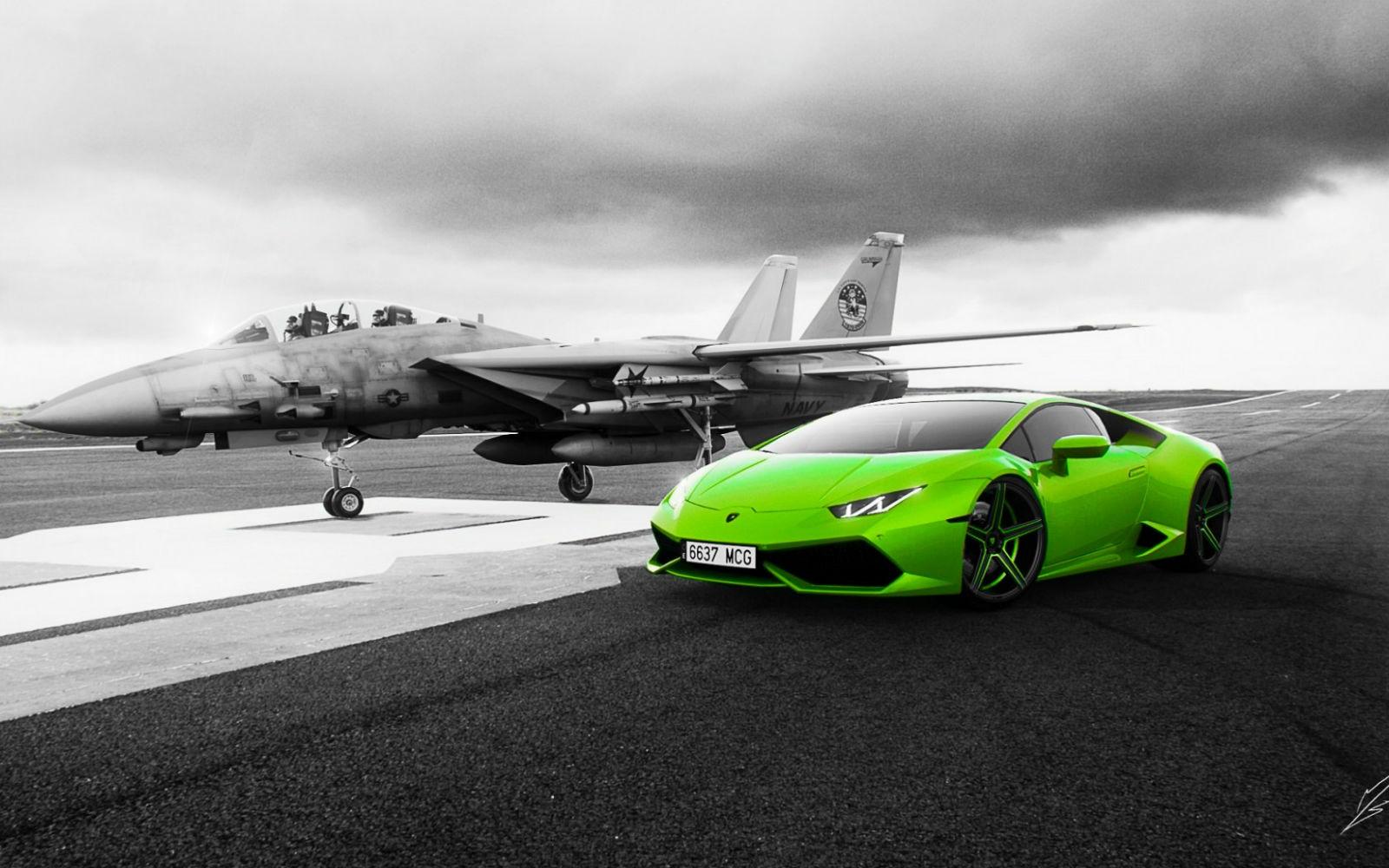 Wallpaper 1600x1000 Px Green Cars Grumman F 14 Tomcat