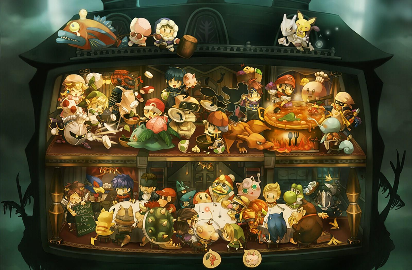 Wallpaper 1600x1050 Px Nintendo Video Games 1600x1050 Wallhaven 1082445 Hd Wallpapers Wallhere
