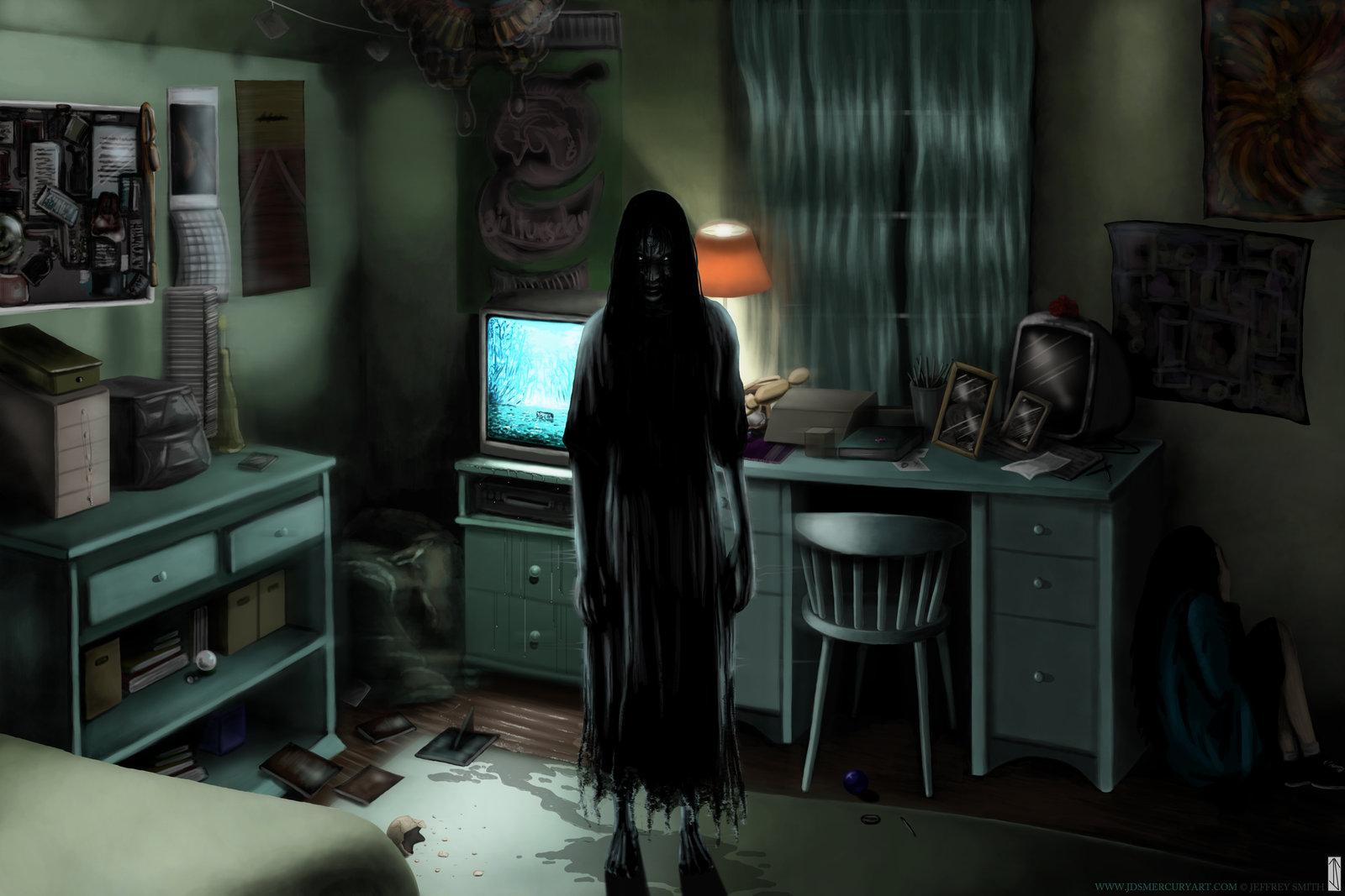 игры с картинкой призраками рту тоненькая