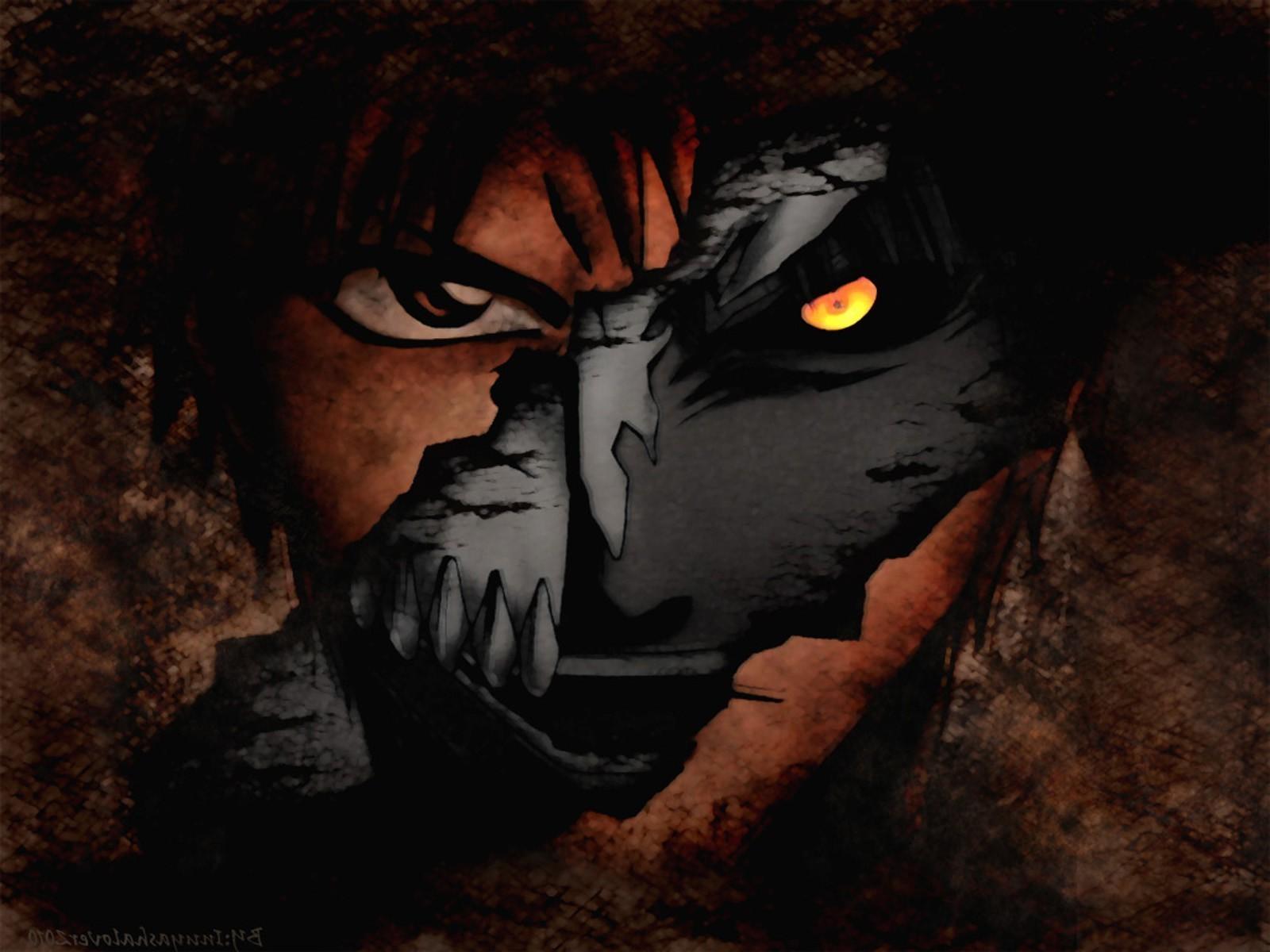 1600x1200 Px Anime Bleach Grunge Hollow Kurosaki Ichigo Mask