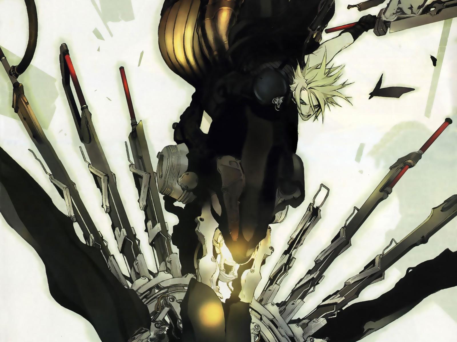 Wallpaper 1600x1200 Px Anime Cloud Strife Final Fantasy