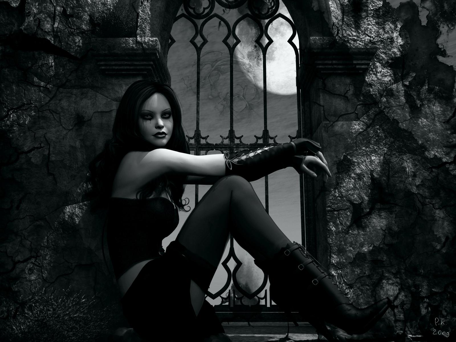 Fond D Ecran 1600x1200 Px Fonce Fille Goth Gothique Loli Style Vampire Femmes 1600x1200 4kwallpaper 1602877 Fond D Ecran Wallhere