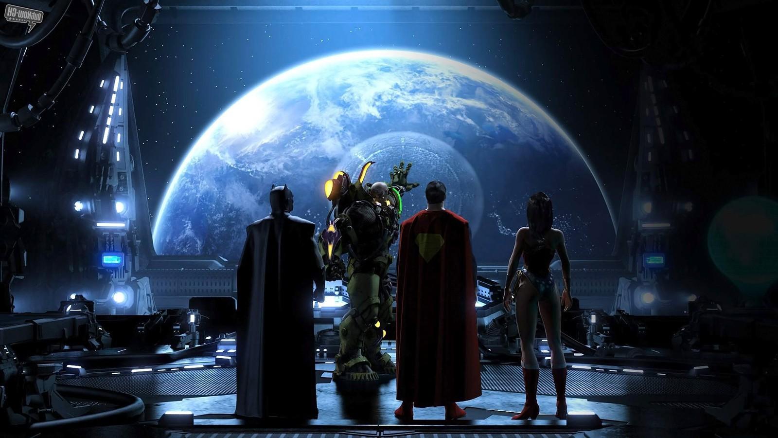 Wallpaper 1600x900 Px Batman Justice League Lex Luthor
