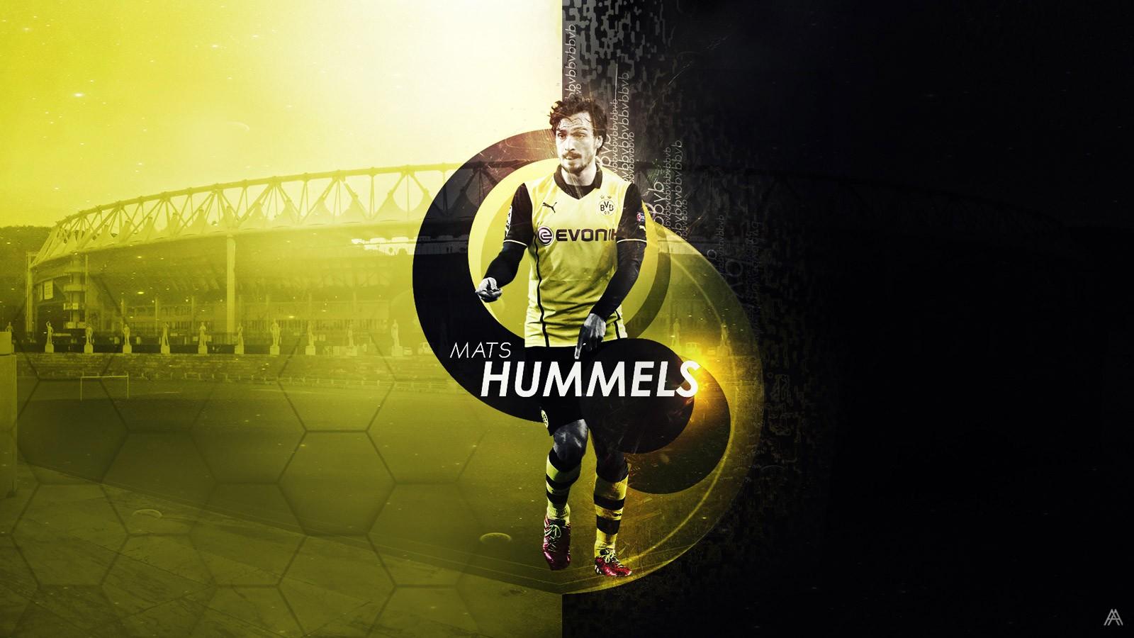 Wallpaper 1600x900 Px Borussia Dortmund Bundesliga Bvb Mats Hummels 1600x900 Goodfon 650575 Hd Wallpapers Wallhere