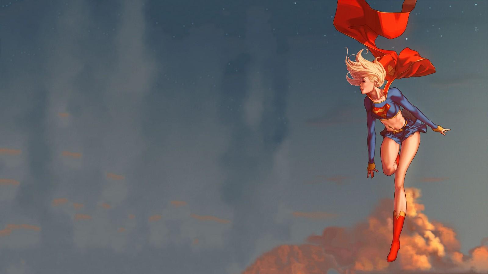wallpaper : 1600x900 px, dc comics, supergirl, superhero, superman
