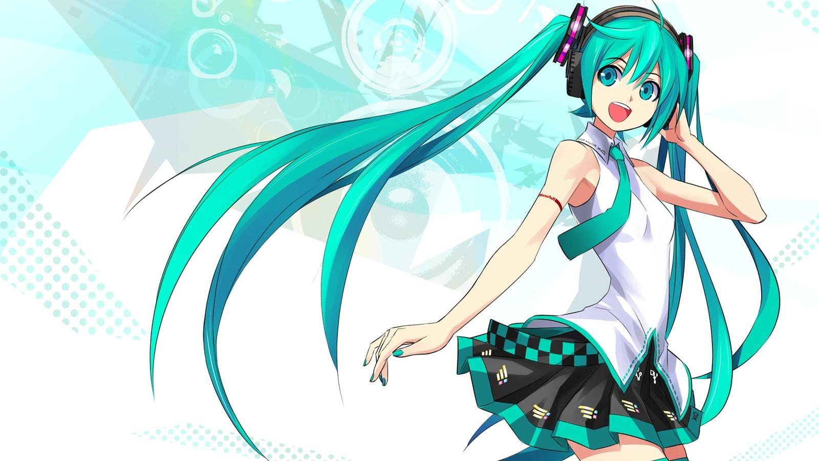 1600x900 Px Anime Hatsune Miku Vocaloid