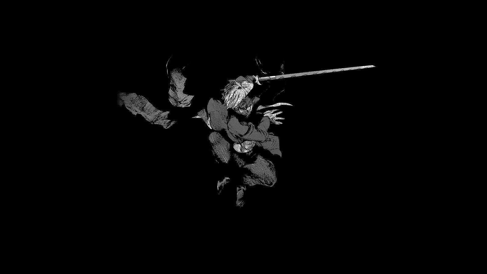 Wallpaper 1600x900 px anime artwork black kaneki ken 1600x900 wallhaven 1244945 hd - Ken hd wallpaper ...