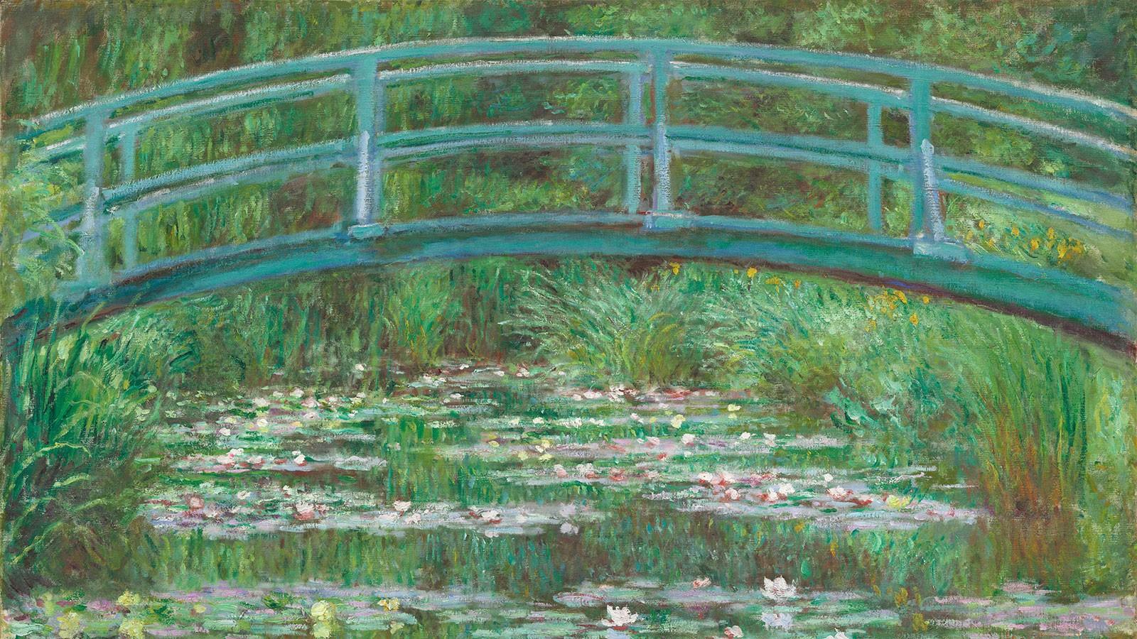 1600x900 Px Artwork Bridge Classic Art Claude Monet Painting Water Lilies