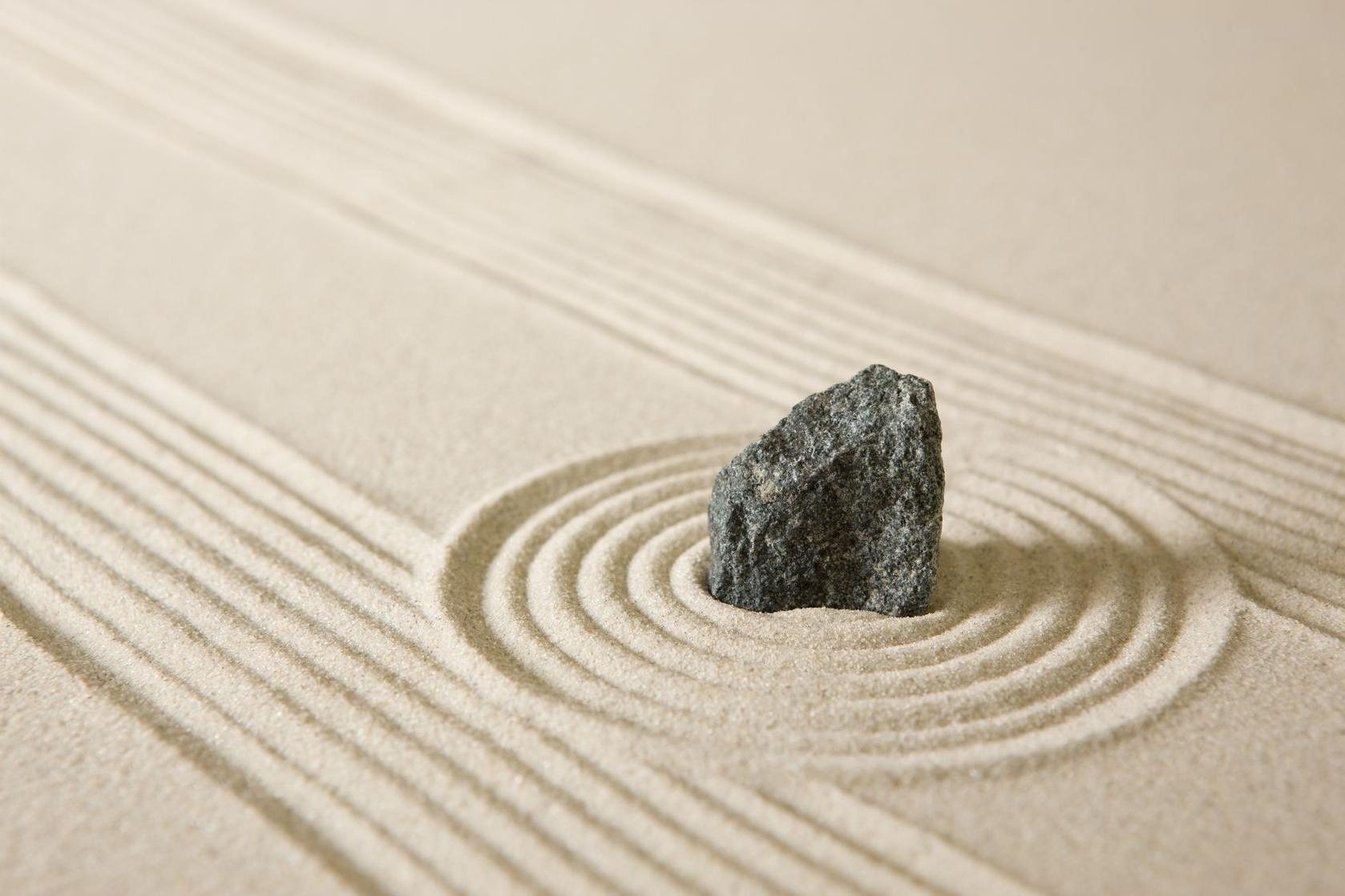 1678x1119 Px Calm Circle Depth Of Field Garden Grain Lines Nature Rock Sand Stone Zen