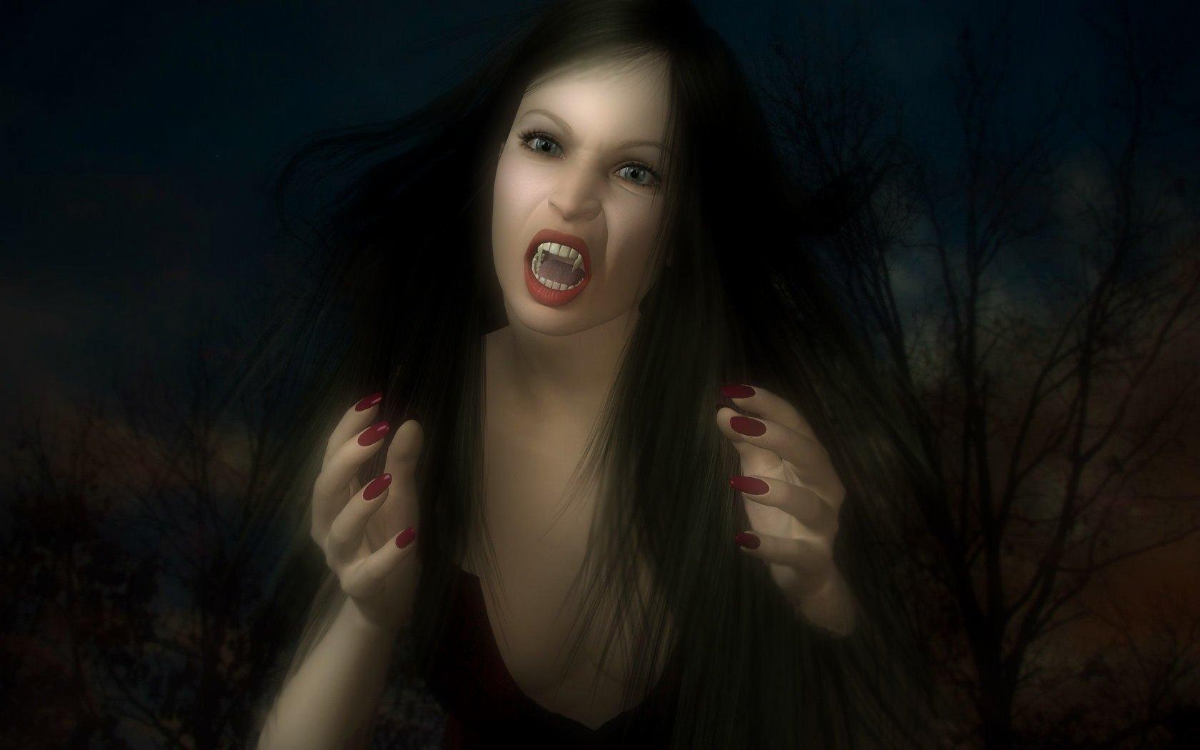 Девки страшные картинки