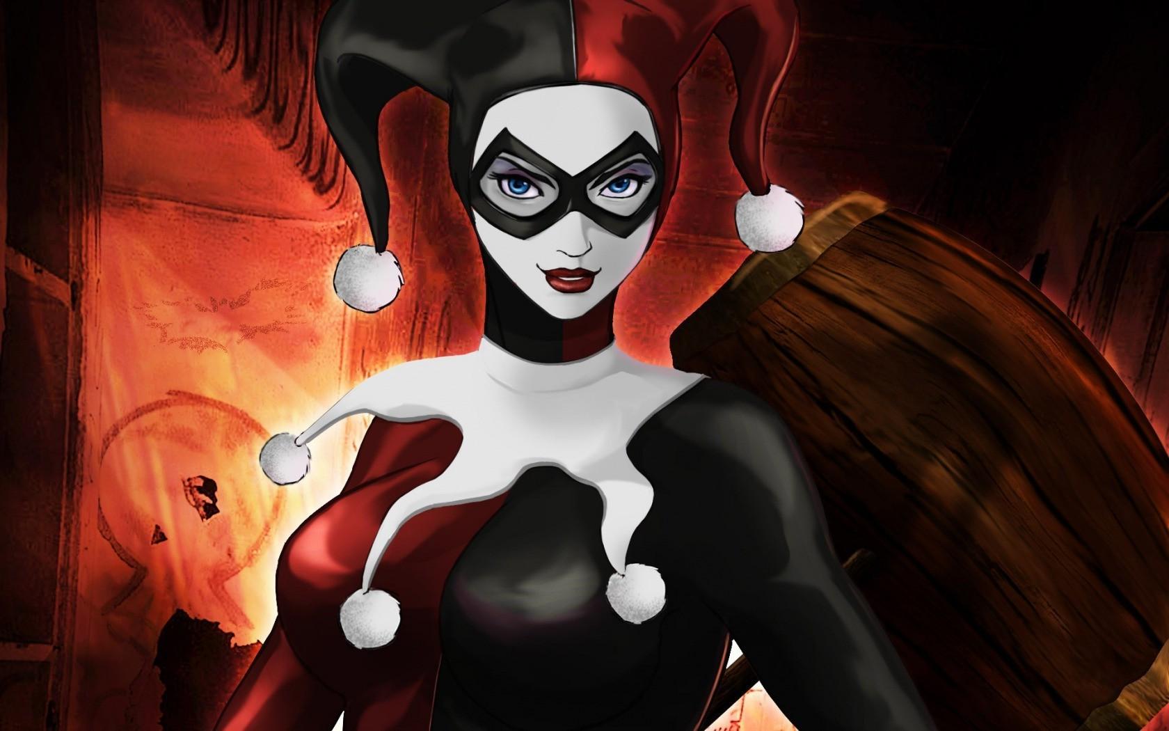 Top Wallpaper Halloween Batman - 1680x1050-px-Batman-DC-Comics-digital-art-Harley-Quinn-Joker-666770  Gallery_28854.jpg