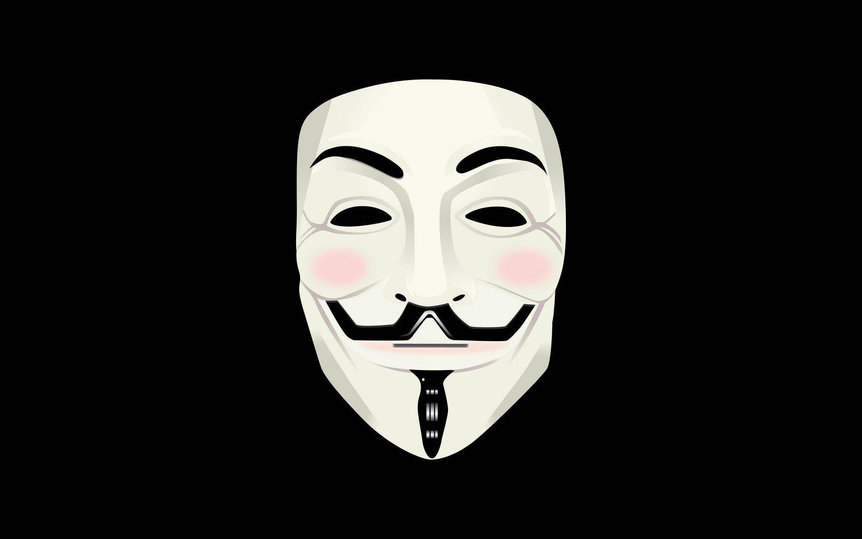 Papel De Parede 1680x1050 Px Mascara De Guy Fawkes Mascarar V