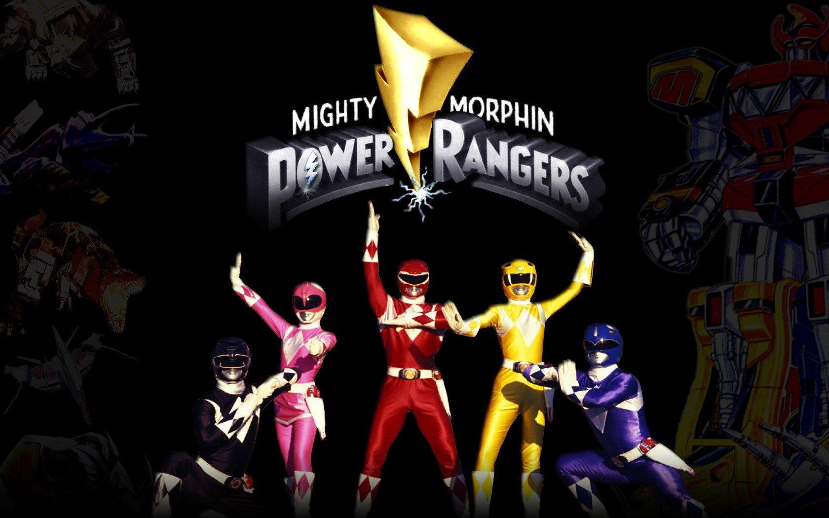 Wallpaper 1680x1050 Px Mighty Morphin Power Rangers Power