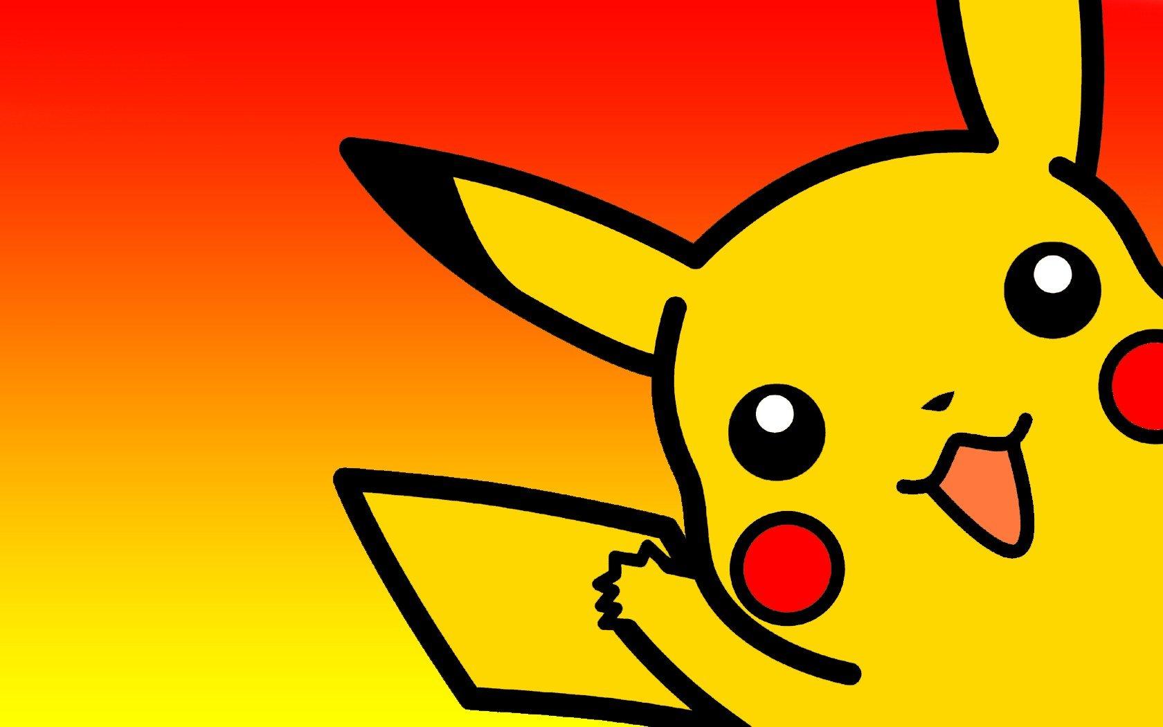Fond d'écran : 1680x1050 px, Pikachu, Pokémon 1680x1050 ...