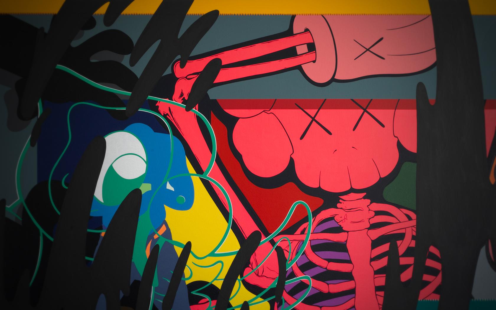 Wallpaper 1680x1050 Px Abstract Color Dark Graffiti