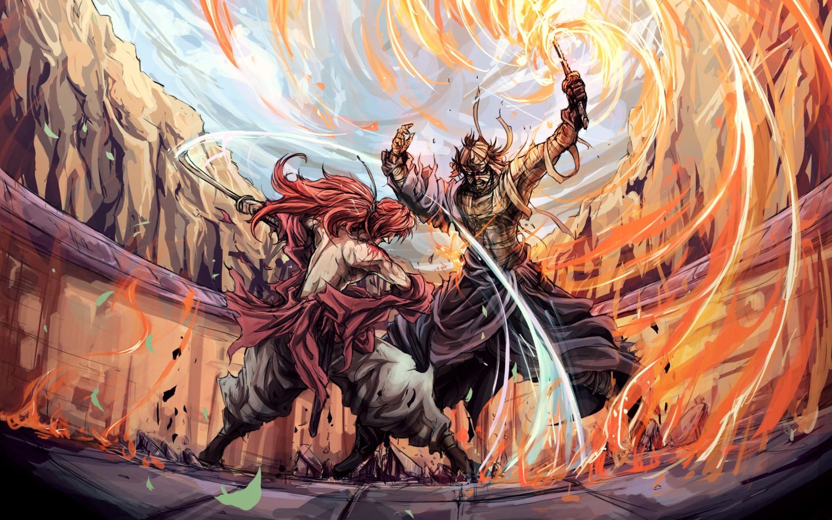1680x1050 Px Anime Manga Rounin Rurouni Kenshin Samurai