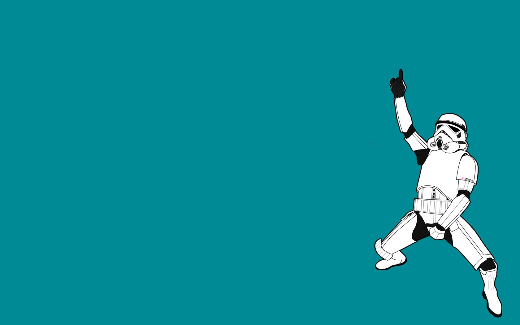 Masaüstü 1680x1050 Piksel Arka Fon Klon Komik Basit Star