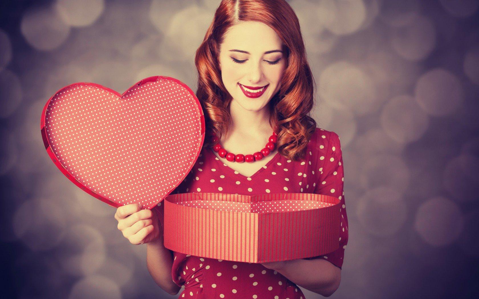 Валентинки картинки с девушками