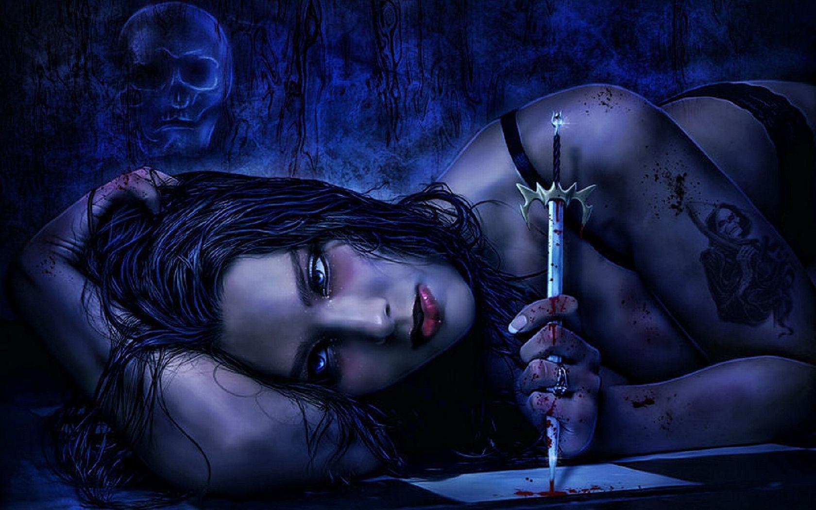 Vampire fetish