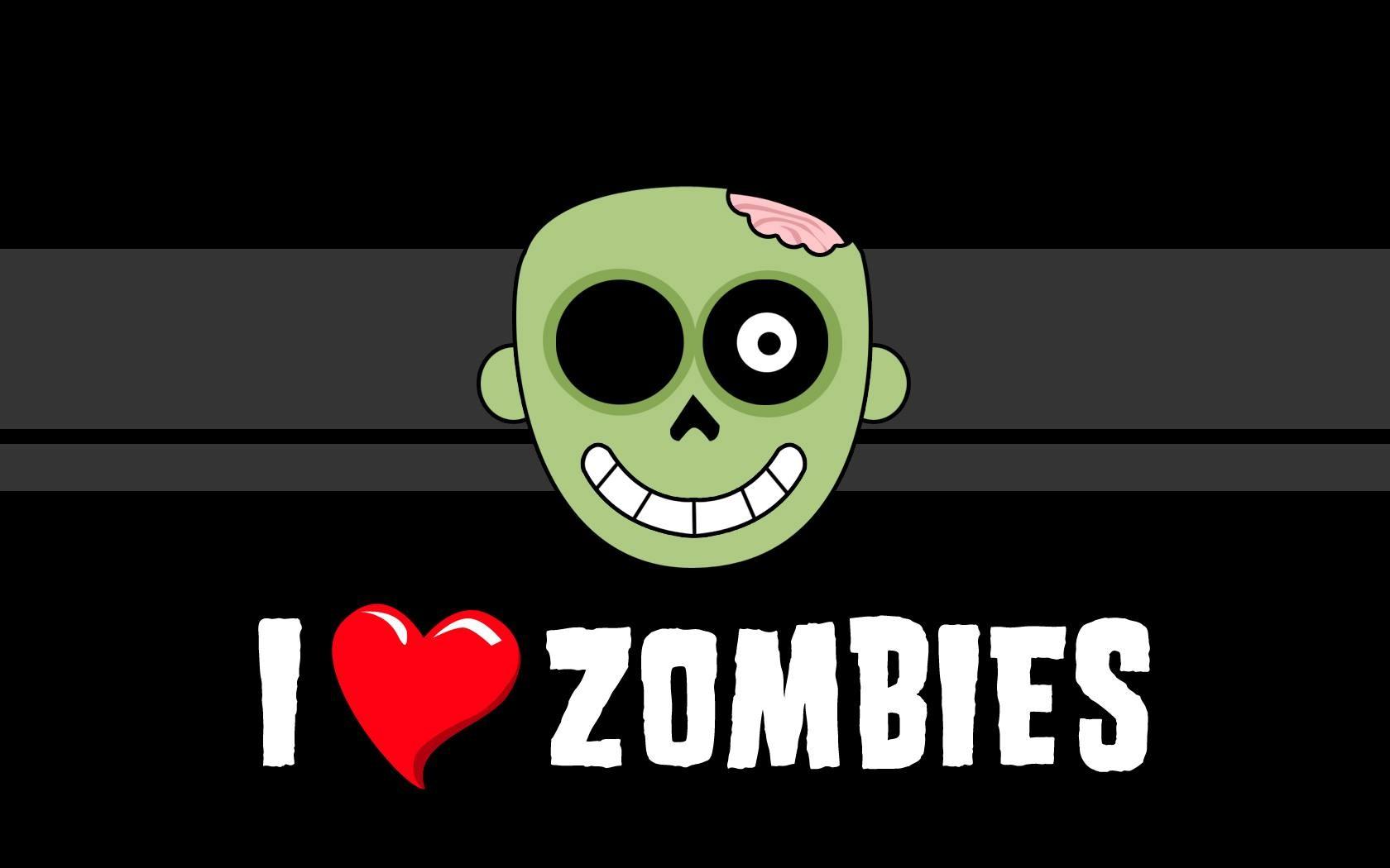 Картинки прикольные зомби