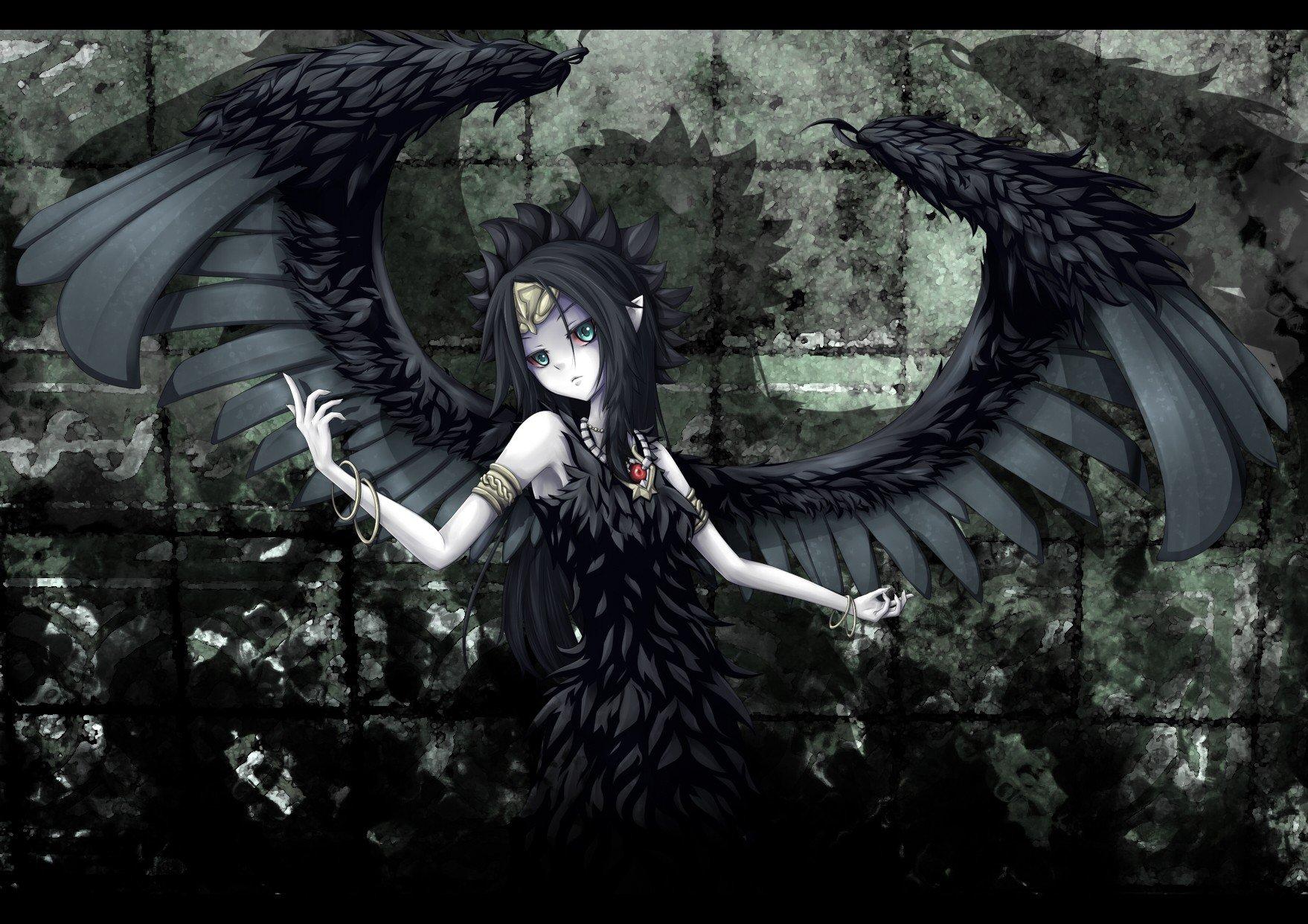 Картинки аниме ангелов тьмы