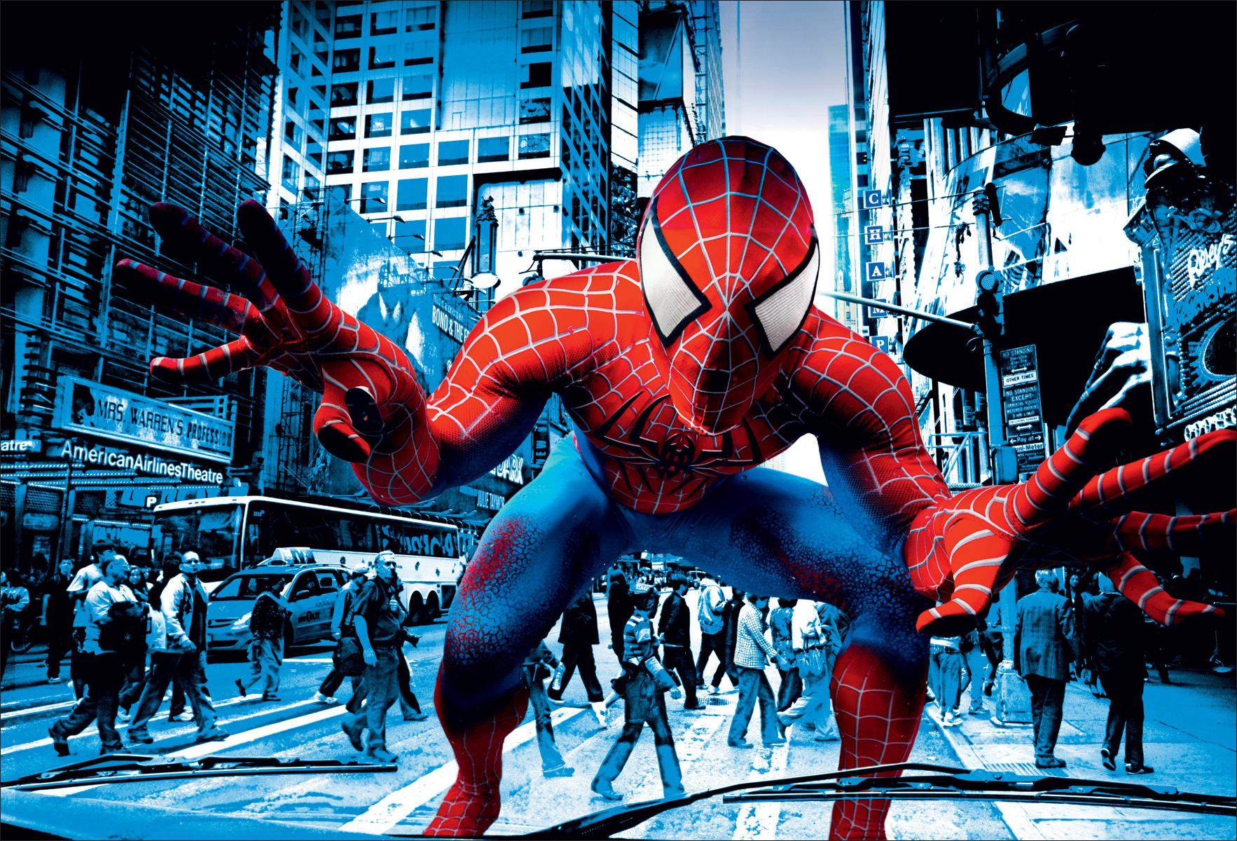 картинки или фото человека паука иногда завидуем