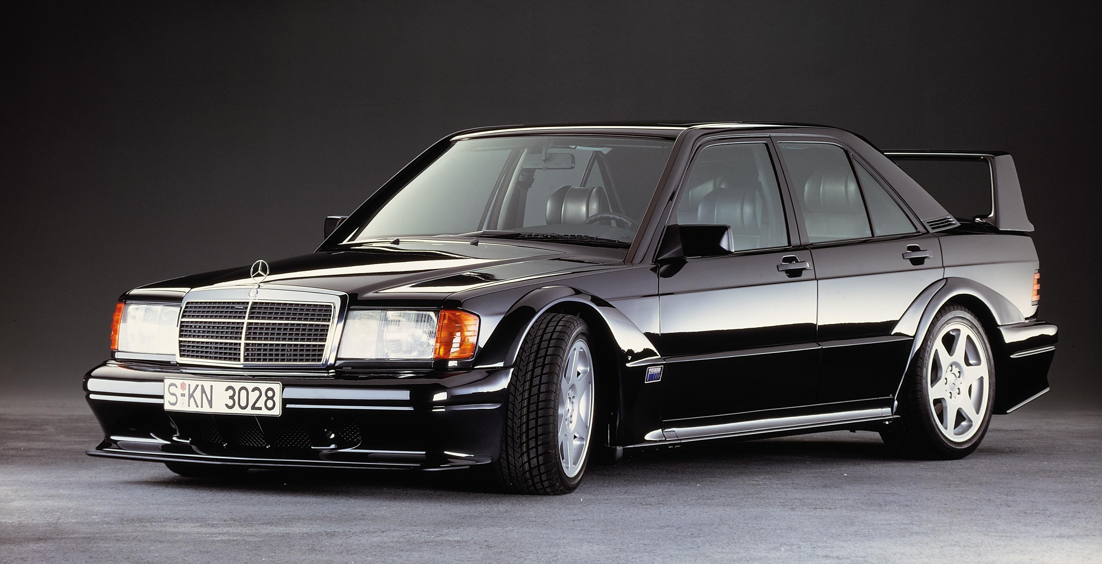Wallpaper 190e 190e 2 3606x1847 Px 5 Evo Ii Benz Car