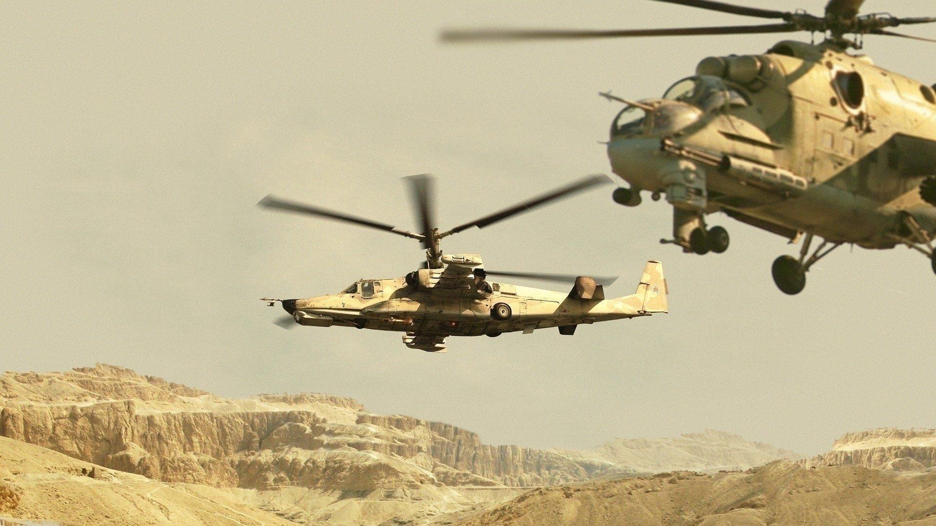 Обои на рабочий стол вертолеты военные