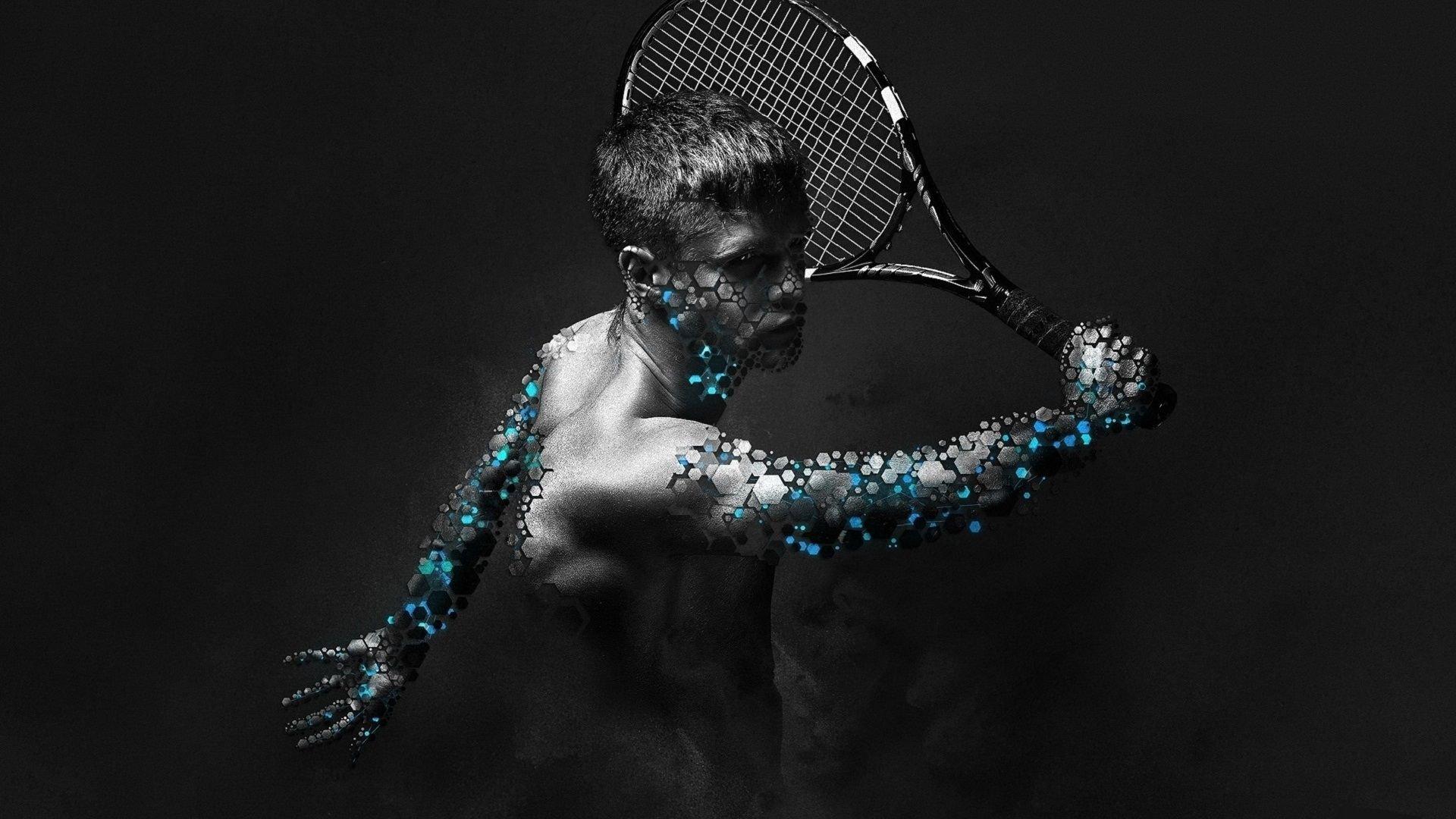 Wallpaper 1920x1080 Px 3d Sports Tenis Virtual