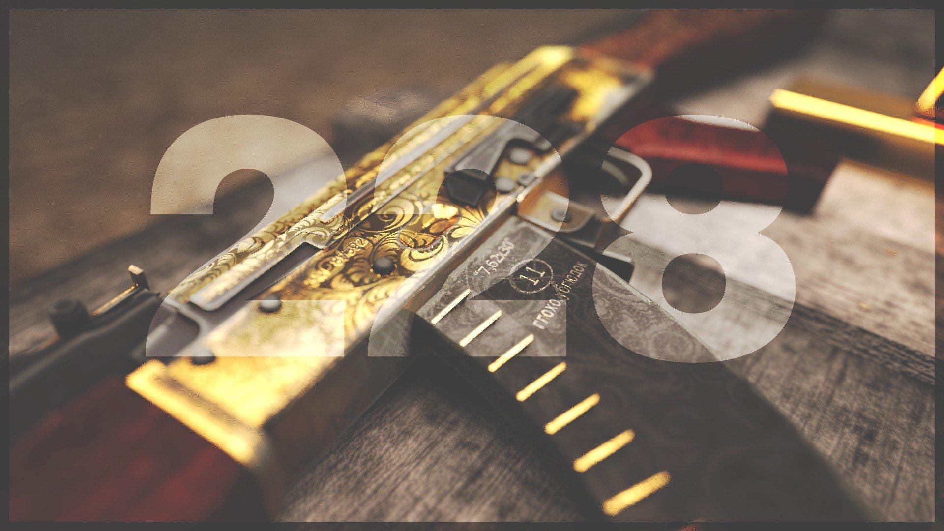 Fondos de pantalla de pistolas de oro