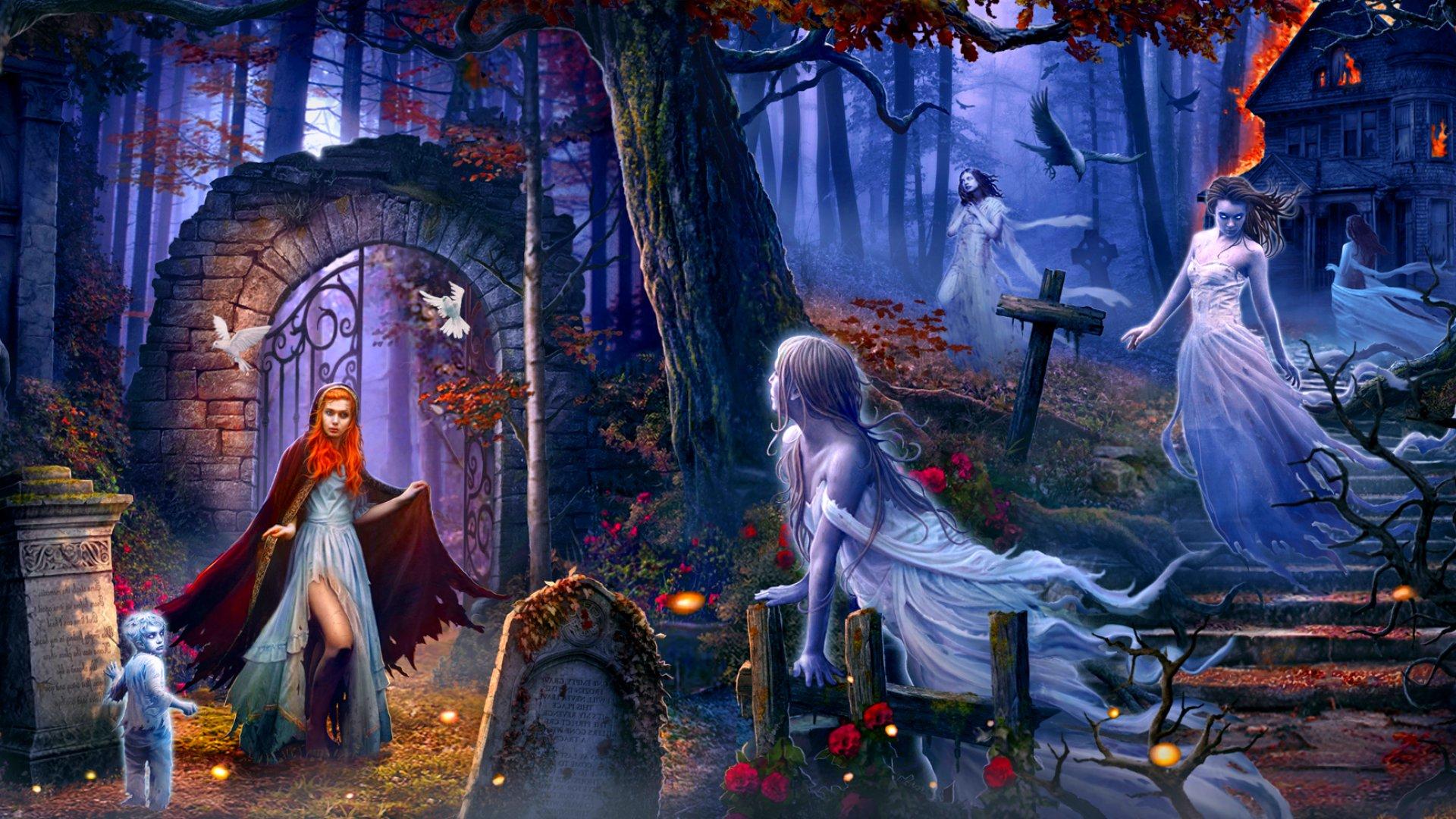 картинки мистические духи боятся