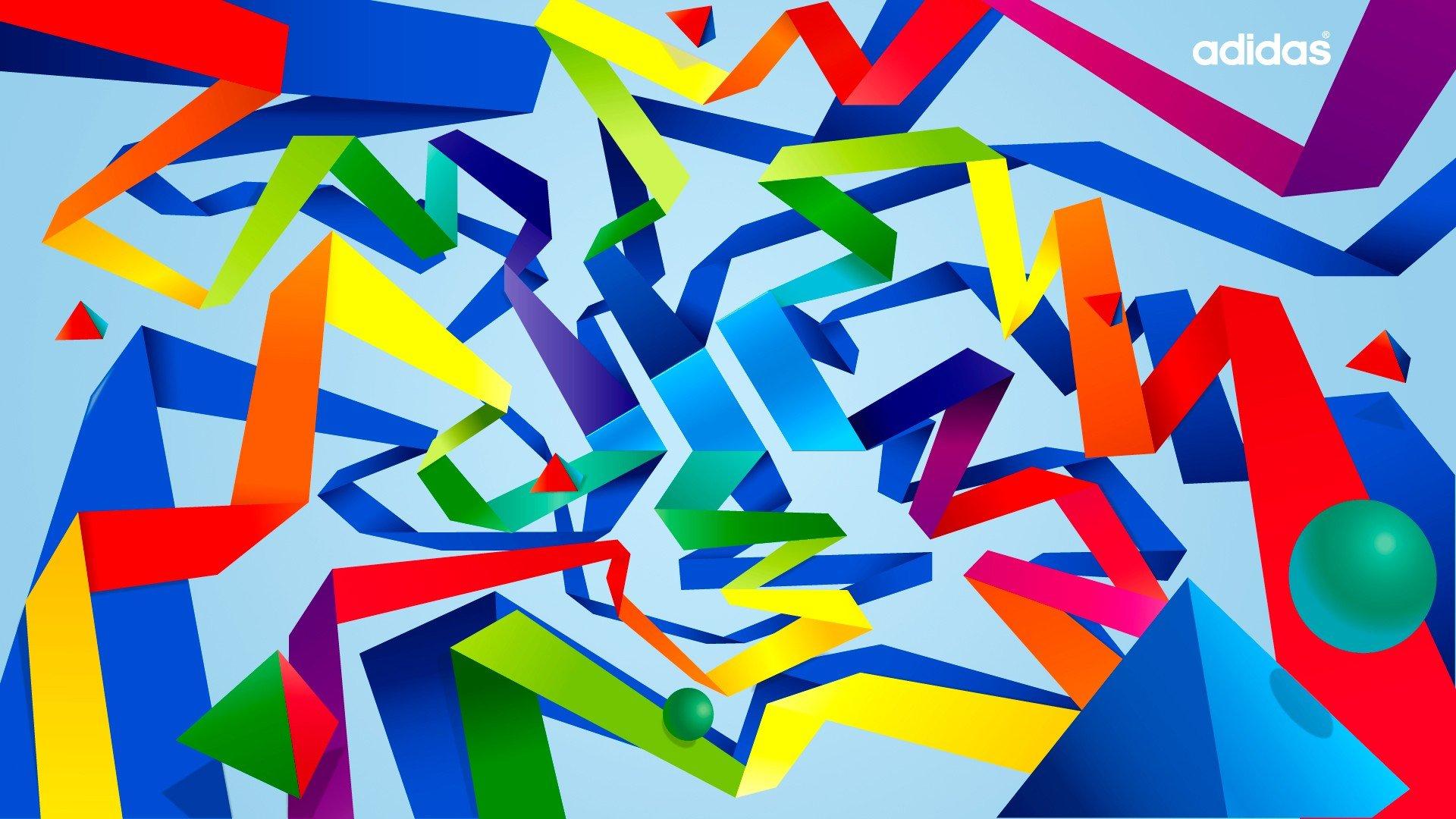 700+ Wallpaper Abstrak Adidas HD Paling Baru