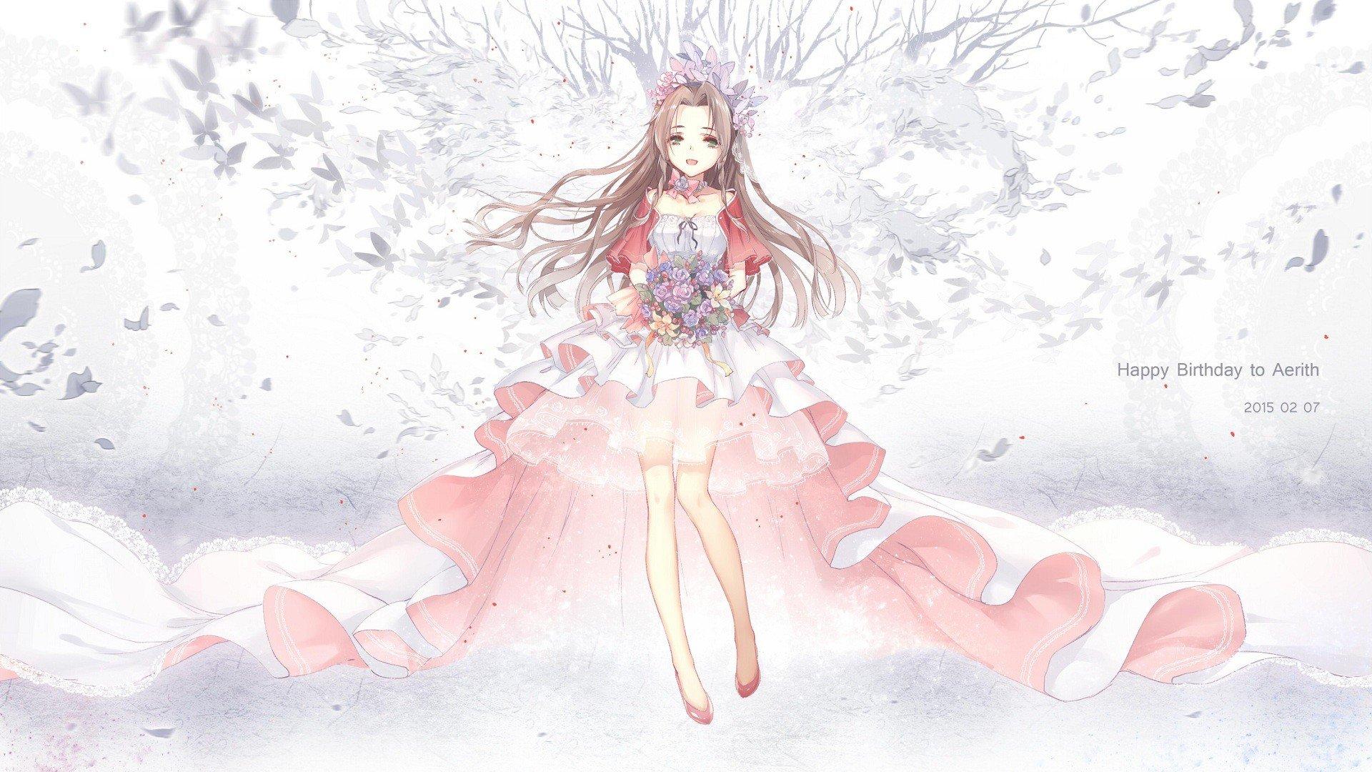 Unduh 46 Wallpaper Final Fantasy Aerith HD Gratid