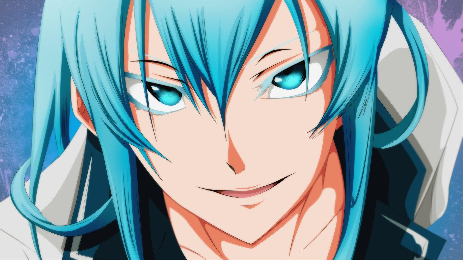 デスクトップ壁紙 1920x1080 Px アカメガキル 青い目 青い髪